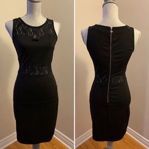 Yumi Black Dress